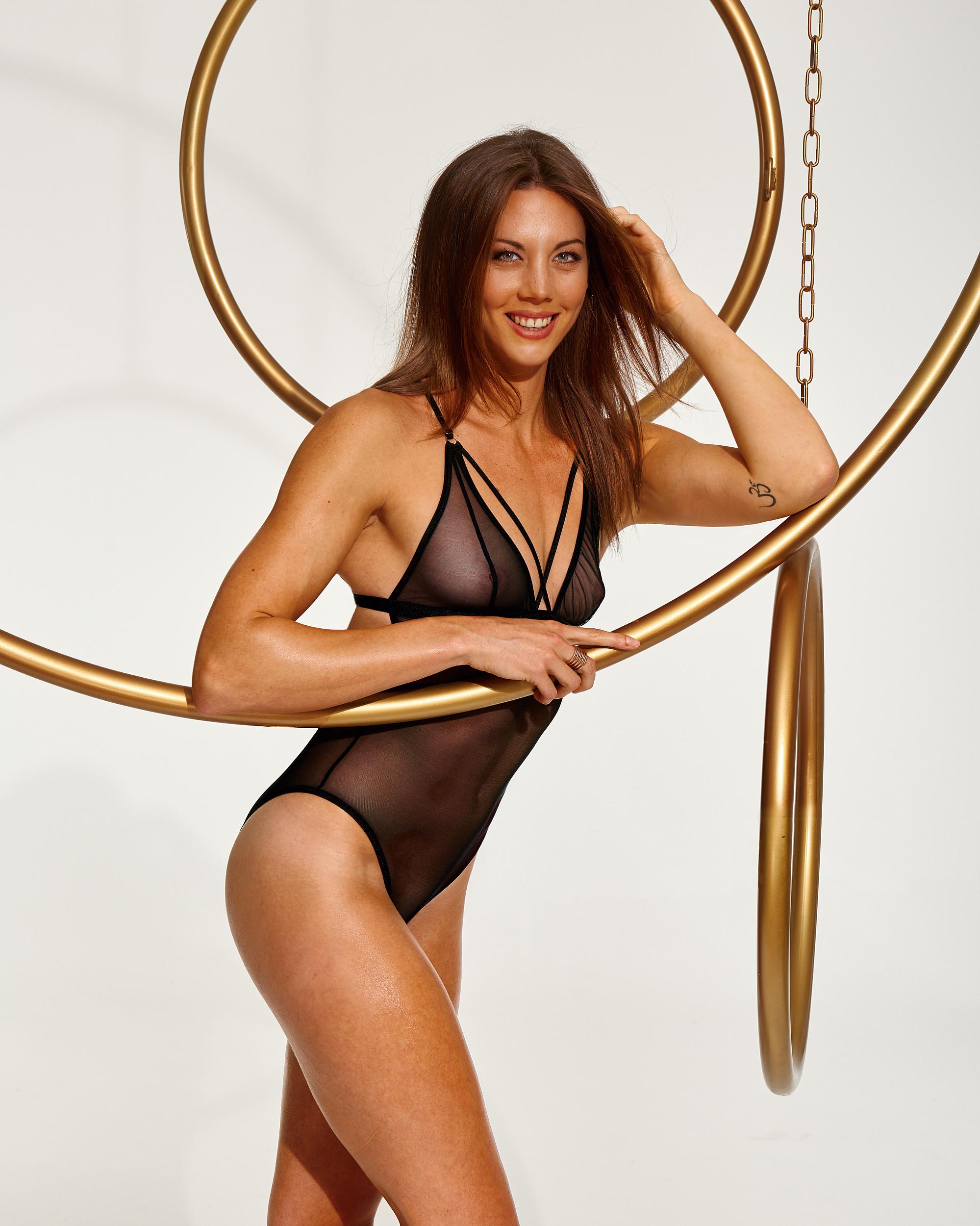 Немецкая спортсменка Katharina Bauer