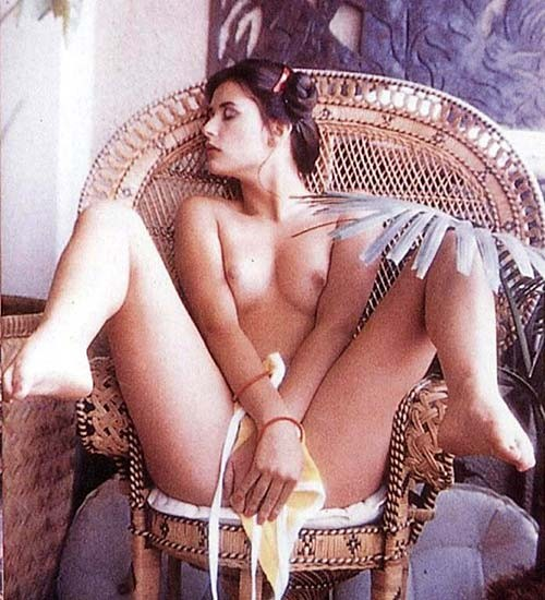 Абсолютно голая Деми Мур (и это не фейки, клянусь, в натури)