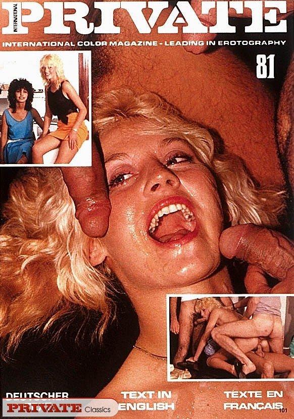 Ретро фото из порно журнала с классной дамой