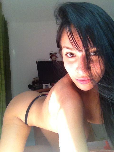Смачный бюст сексапильной венесуэлки